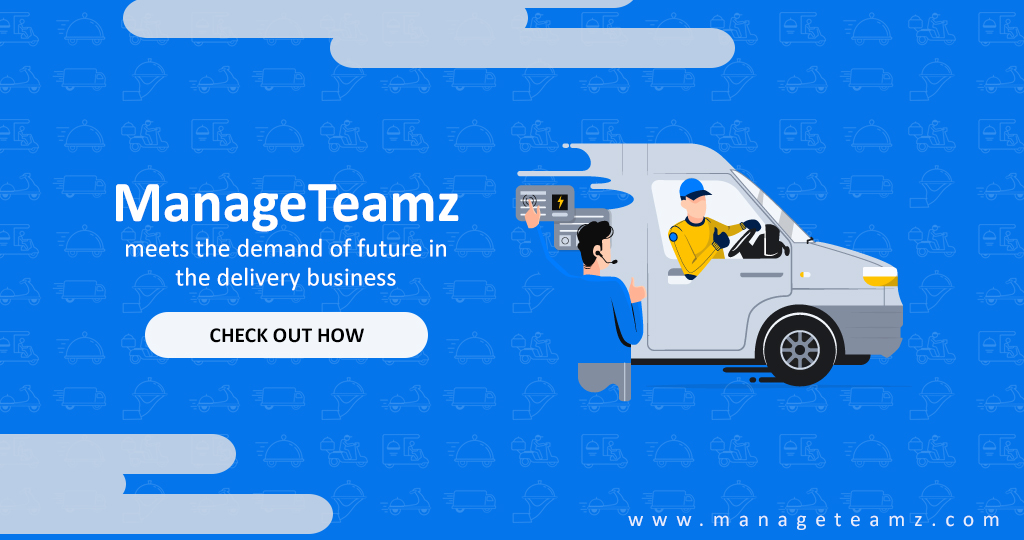 How ManageTeamz meets the demand of the future in the delivery business?