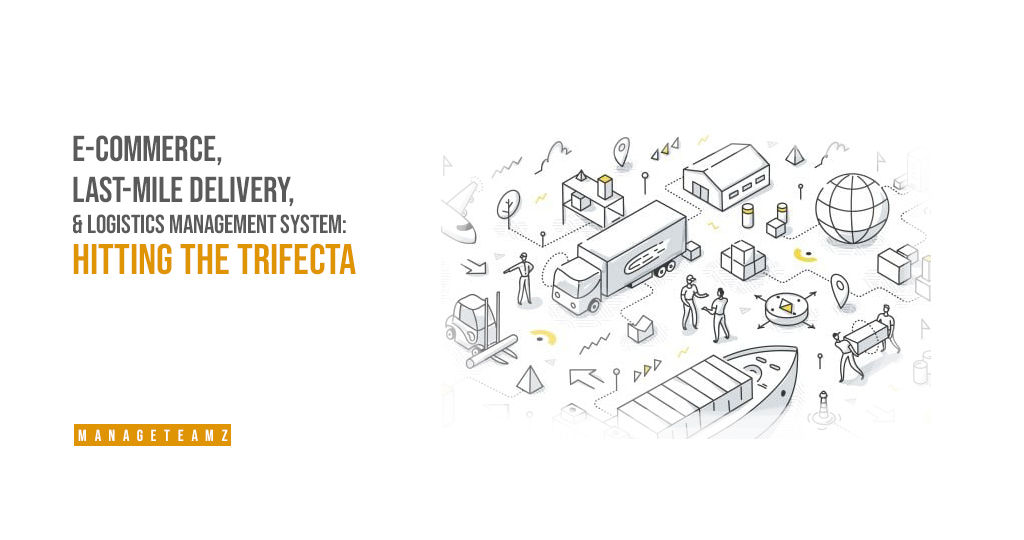 E-commerce, last-mile delivery, and logistics management system: Hitting the trifecta